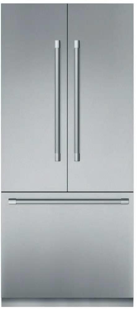 "Thermador Freedom 36"" SS Open Door Assist French Door Refrigerator T36BT920NS - ALSurplus AL"