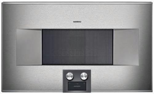 "GAGGENAU 400 Series 30"" 1.3 cu. ft. 2,000 Watt Built-in Microwave Oven BM484710 - ALSurplus AL"