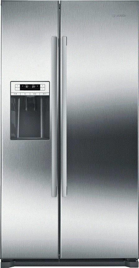 "Bosch 300 Series 36"" Side by Side Ice Water Dispenser Refrigerator B20CS30SNS - ALSurplus AL"