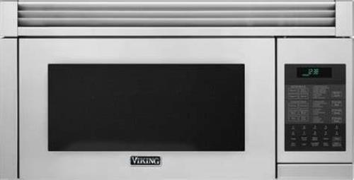 "Viking 30"" 1.1 cu ft 300 CFM Over-the-Range Microwave Oven RVMHC330SS S. Steel"