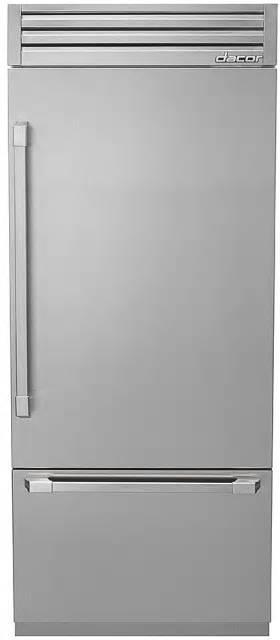 "Dacor Discovery 36"" SS 19.3 cu. ft Fully Integrated Bottom-Freezer DYF36BFTSR"