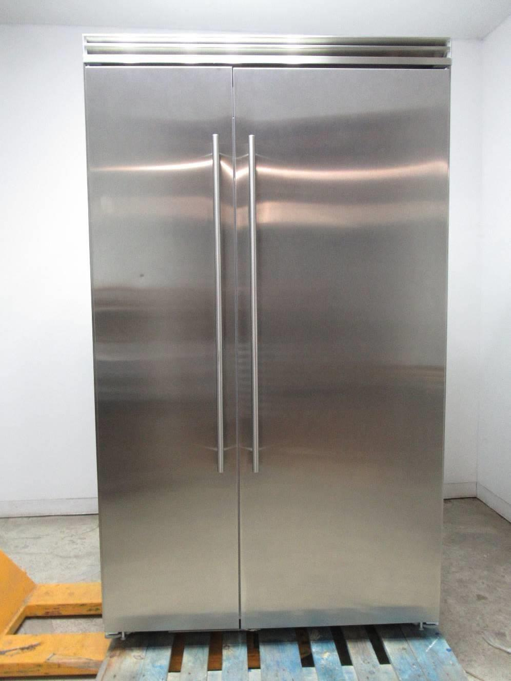 Marvel Professional Series 48 Inch Built-In Side-by-Side Refrigerator MP48SS2NS - ALSurplus AL