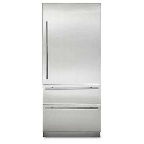 "Viking Virtuoso 6 Series 36"" Fully Integrated Bluezone Refrigerator MVBI7360WRSS"