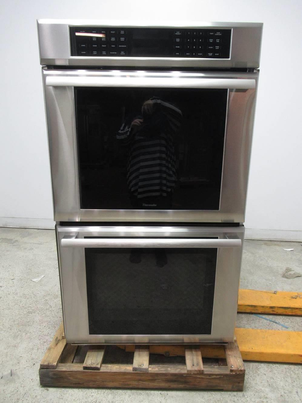 "Thermador Masterpiece Series 30"" SS Double Electric Wall Oven MED302JS EXCLNT - ALSurplus AL"