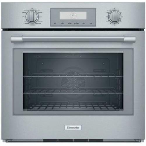 "Thermador Professional Series 30"" 4.5 CuFt Single Built-In Oven POD301W S. Steel - ALSurplus AL"