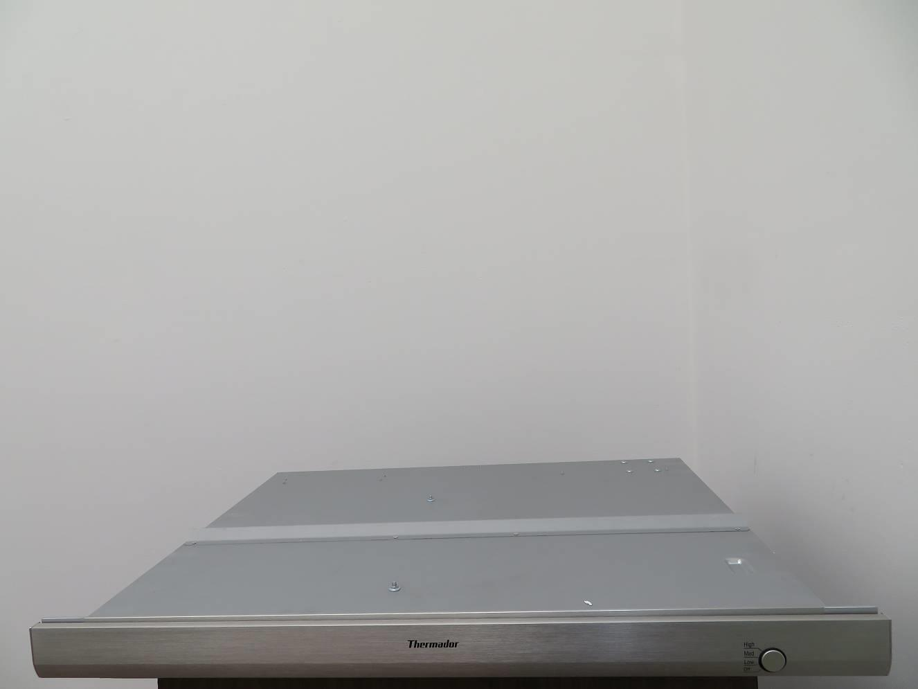"Thermador 30"" 3-Speed Button Control Inline Stainless DownDraft hood UCVM30FS IM - ALSurplus AL"