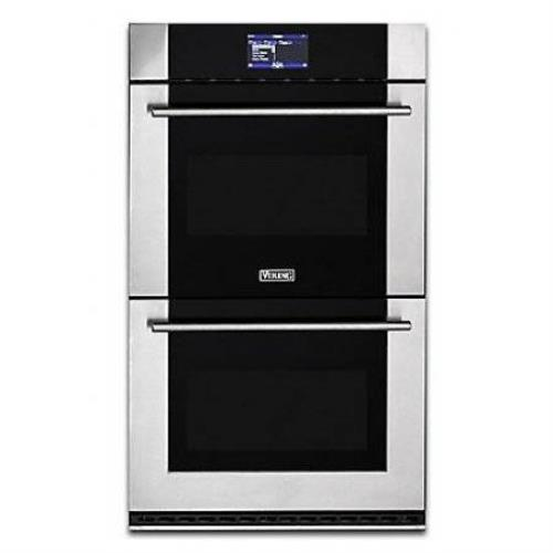 "Viking Virtuoso 6 Series 30"" TruConvec Double Thermal-Convection Oven MVDOE630SS"