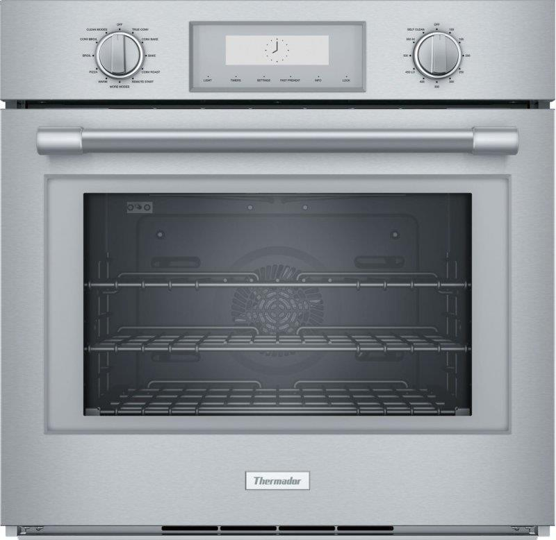 "Thermador Professional Series PO301W 30"" 4.5 cuft Electric Single Wall Oven Pics - ALSurplus AL"