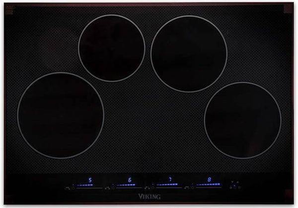 Viking Virtuoso 30 Inch 4 MagneQuick Elements BLK Induction Cooktop MVIC6304BBG
