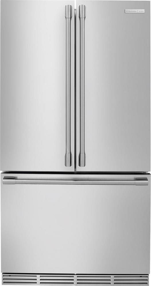 "Electrolux ICON 36"" Counter Depth French Door Refrigerator SS E23BC68JPS"