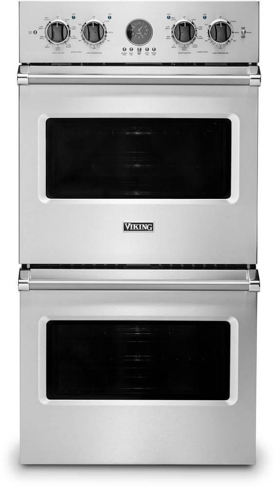 Viking Professional 5 Series 27 Inch SS Rapid Ready Double Wall Oven VDOE527SS - ALSurplus AL
