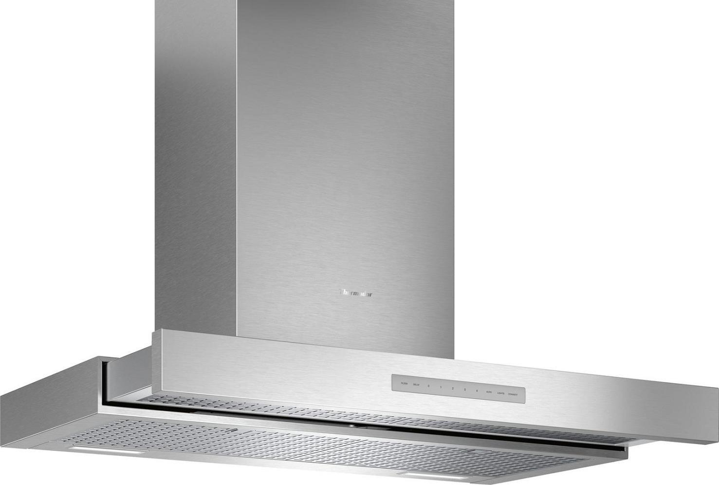 "Thermador 36"" Masterpiece Series HDDB36WS Chimney Wall Drawer Hood Stainless S. - ALSurplus AL"