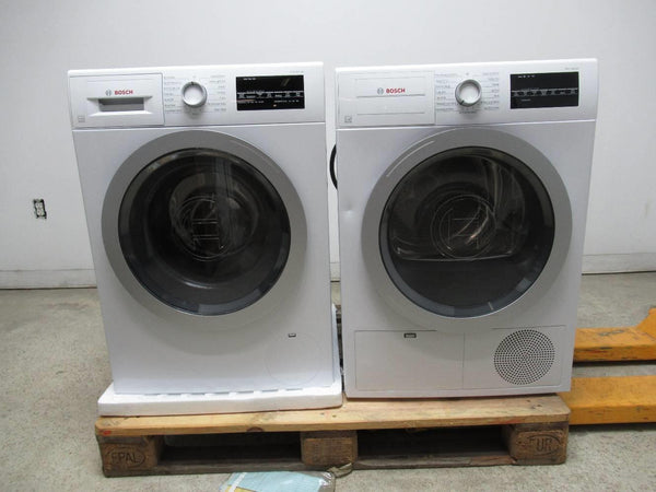 Bosch 500 Series Front Load 15 Progams Washer + Dryer WAT28401UC / WTG86401UC - ALSurplus AL