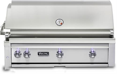 "Viking Professional 5 Series VQGI5420LSS 42"" Built-In Grill  with ProSear Burner"
