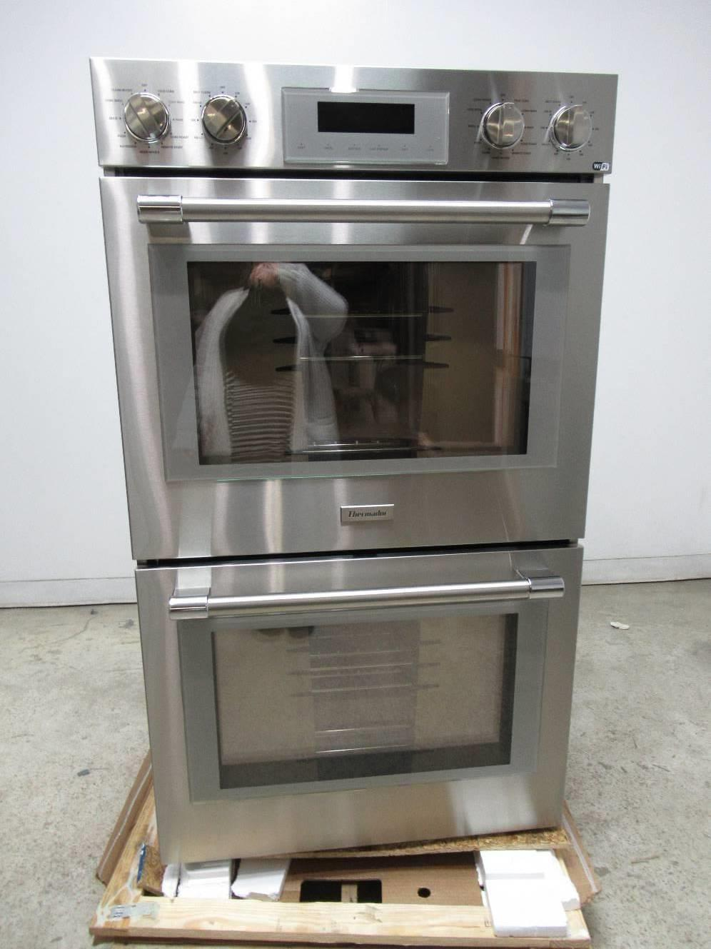 "Thermador Professional Series 30"" Stainless 16 cooking modes Double Oven POD302W - ALSurplus AL"