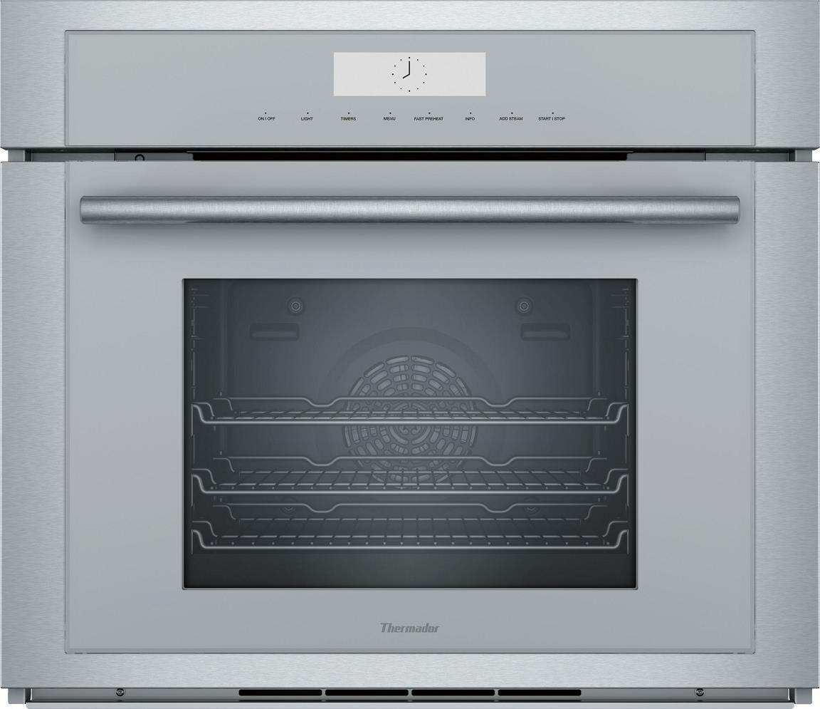 Thermador 30'' Wall Oven with Steam, Convection, SoftClose Door MEDS301WS