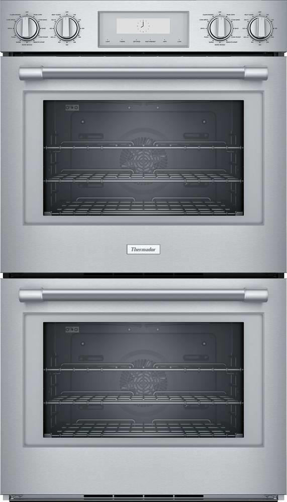"Thermador Professional Series 30"" Self-Clean Mode Double Wall Oven PO302W IMG - ALSurplus AL"