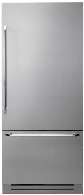 Dacor Discovery 36 Inch 19.3 cu. ft Fully Integrated Bottom-Freezer DYF36BFBSR - ALSurplus AL