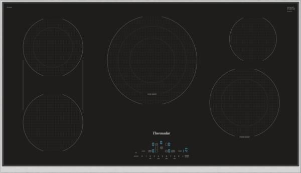 Thermador Masterpiece Series 36 Inches Electric CookSmart Cooktop CET366TB Image - ALSurplus AL