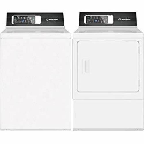 Speed Queen Side by Side Top/Front Load Washer & Dryer TR7000WN / DR7000WE Combo - ALSurplus AL