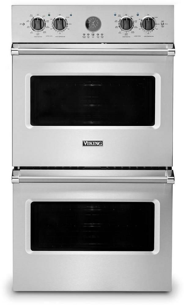 "Viking Professional 5 Series 30"" Stainless 9.4 cu. ft Double Wall Oven VDOE530SS - ALSurplus AL"