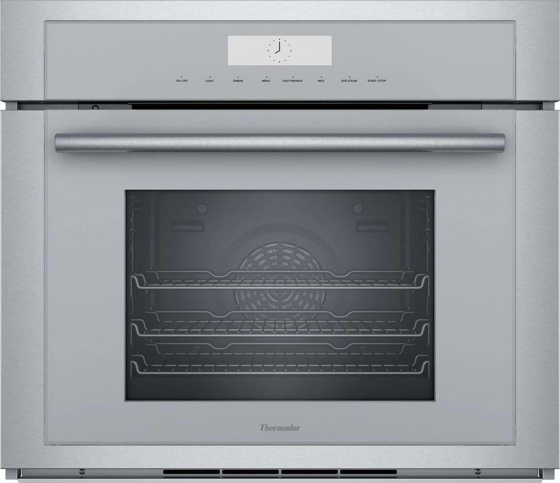 "Thermador 30"" Steam Convection Self-Clean SS Wi-Fi Wall Oven MEDS301WS Excellent - ALSurplus AL"