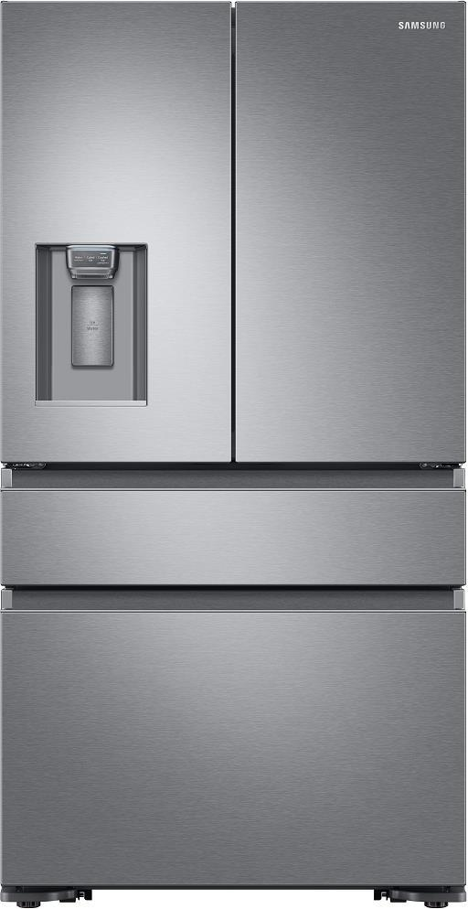 "Samsung RF23M8070SR 36"" Counter Depth 4-Door French Door Refrigerator - ALSurplus AL"