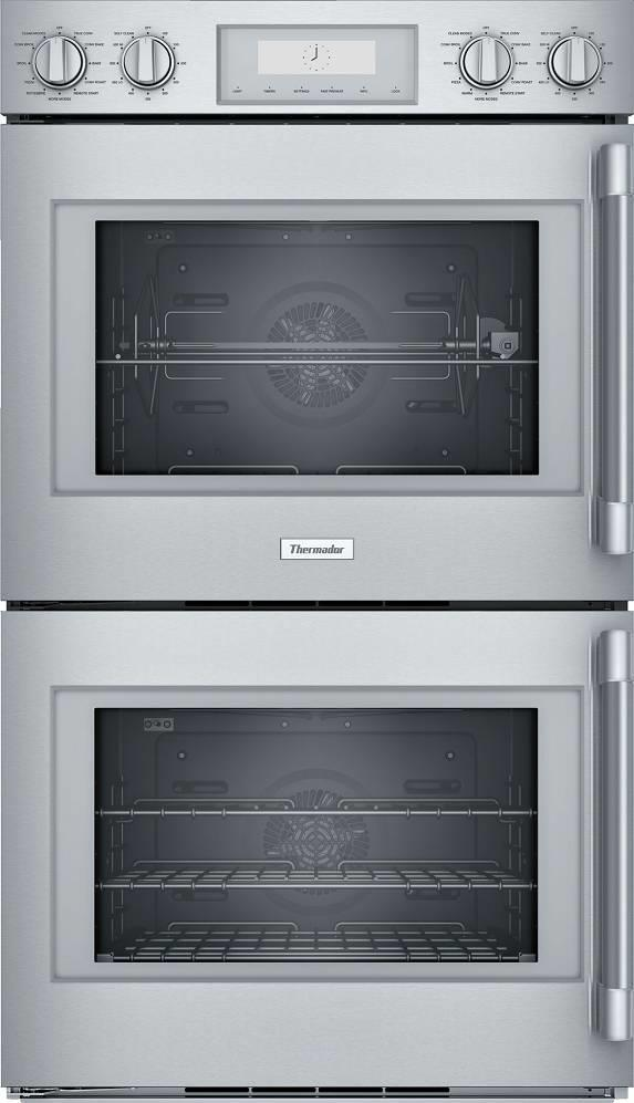 "Thermador Professional Series 30"" 16 Modes Modes Double Wall Oven POD302LW Pics - ALSurplus AL"