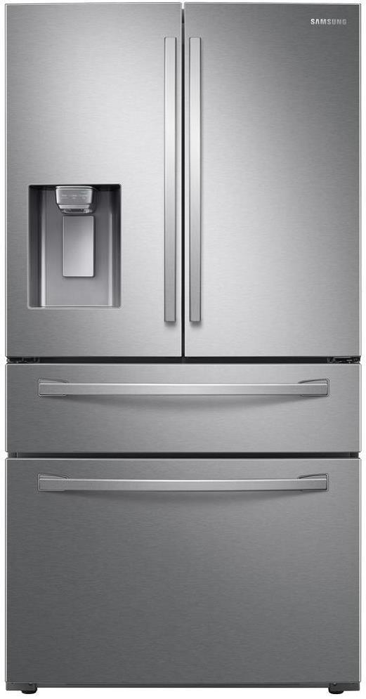 "Samsung 36"" 4 Door Refrigerator with 28 Cu.Ft. Stainless Steel - ALSurplus AL"