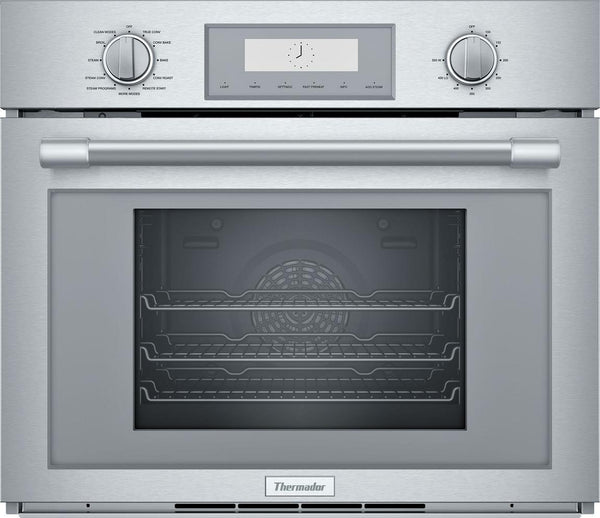 Thermador Professional Series 30'' Steam / Convection Single Wall Oven PODS301W - ALSurplus AL