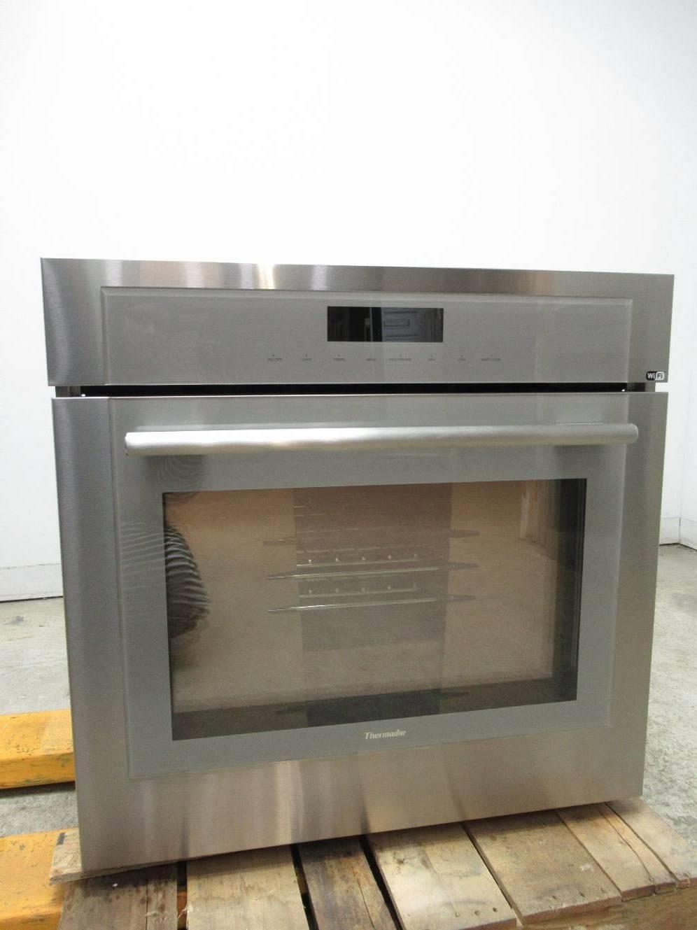 "Thermador Masterpiece Series 30"" SoftClose 4.5 SS Single Built-In Oven ME301WS - ALSurplus AL"