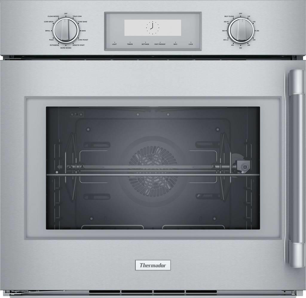 "Thermador Professional Series 30"" 4.5 Cu. Ft SS Single Wall Oven POD301LW - ALSurplus AL"