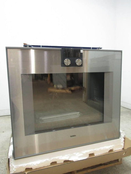 "Gaggenau 400 Series 30"" Single Electric Convection Wall Oven BO480611 EXLNT - ALSurplus AL"