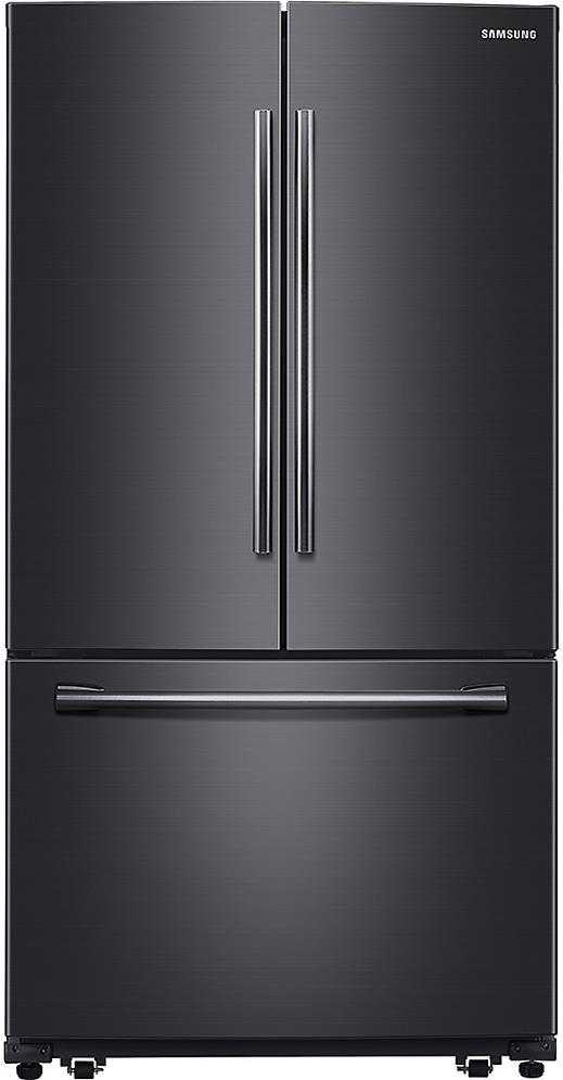 Samsung 36'' CoolSelect French Door Refrigerator RF260BEAESG Black Stainless - ALSurplus AL