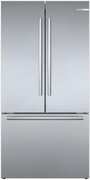 BOSCH 36'' Smart Counter Depth French Door Refrigerator Wi-Fi B36CT80SNS Perfect - ALSurplus AL