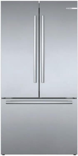 BOSCH 36'' Smart Counter Depth French Door Refrigerator Wi-Fi B36CT80SNS - ALSurplus AL
