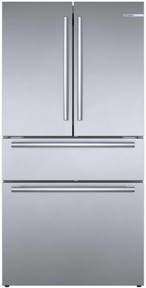 "Bosch 800 Series 36"" Counter French door Depth Refrigerator B36CL80SNS Images - ALSurplus AL"