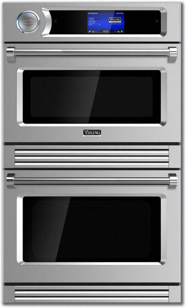 "Viking TurboChef Series 30"" Double Electric Wall Oven VDOT730SS"