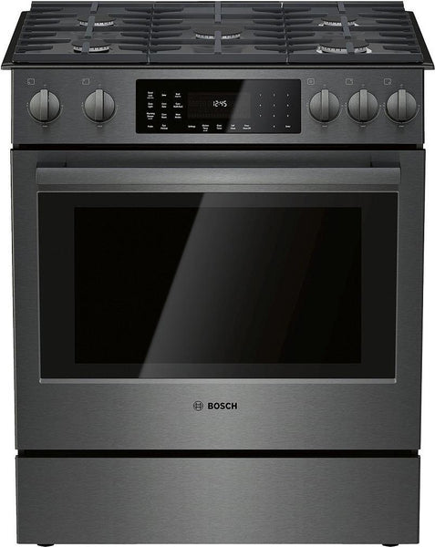 "Bosch 30"" Slide-In Gas Range with 5 Sealed Burners, Touch Controls HGI8046UC - ALSurplus AL"