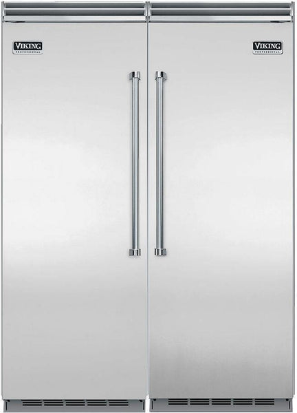 "Viking Professional 5 Series 60"" Refrigerator & Freezer VCRB5303RSS / VCFB5303LSS"