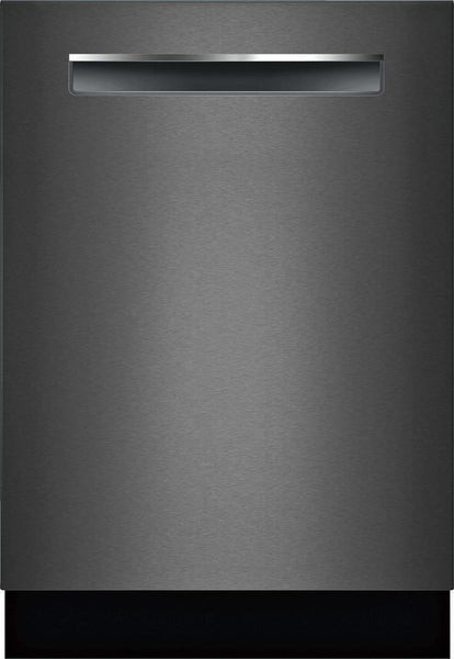 "Bosch 800 Series 24"" 42DB Black Stainless Fully Integrated Dishwasher SHPM78Z54N - ALSurplus AL"