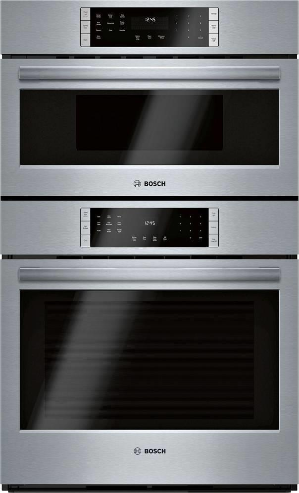 Bosch 800 Series 30 Inch Home Connect Smart Combination Speed Oven HBL8753UC - ALSurplus AL