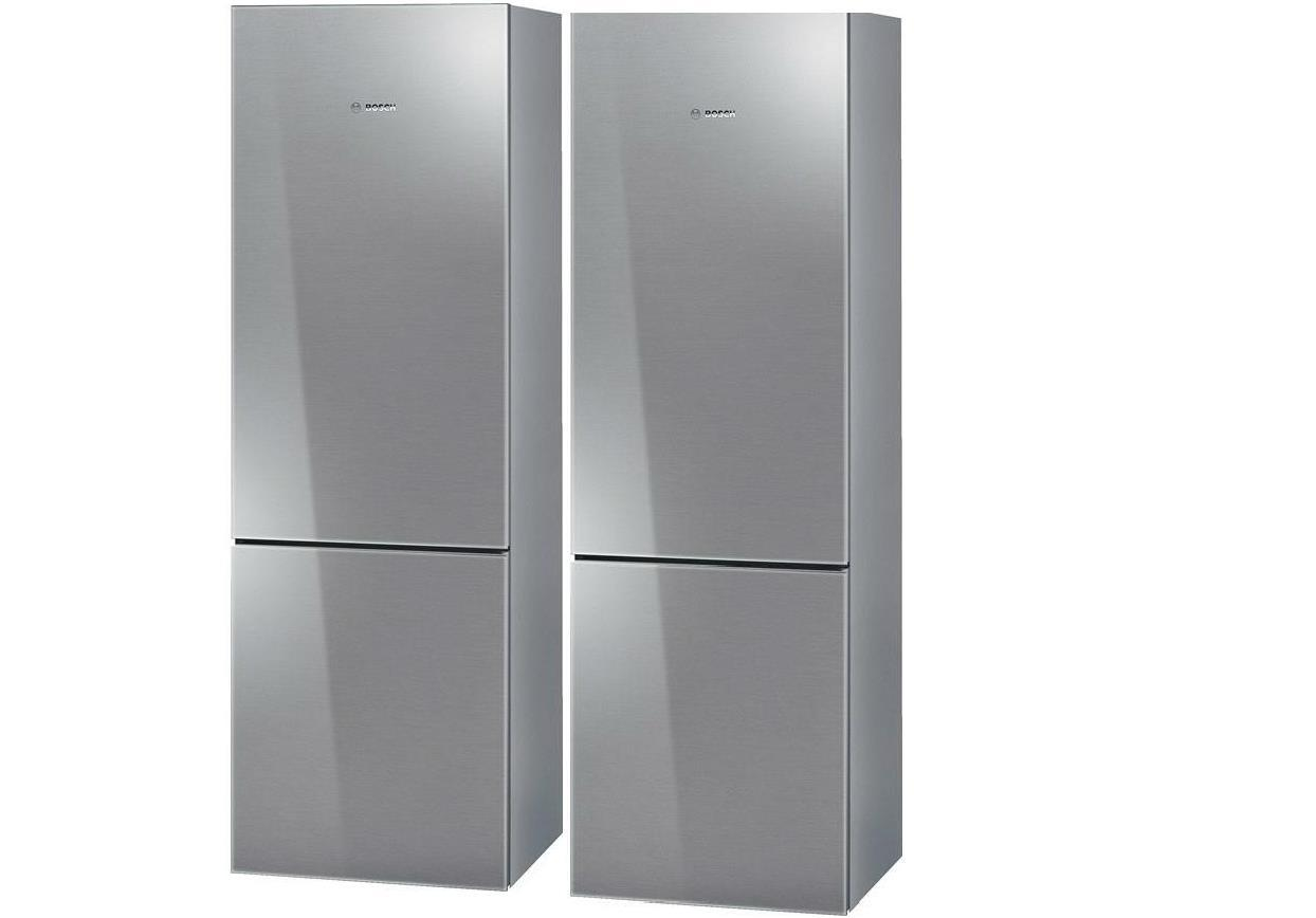 Bosch 800 Counter-Depth Stainless Refrigerators: Set of 2 24 in units B10CB80NVS - ALSurplus AL