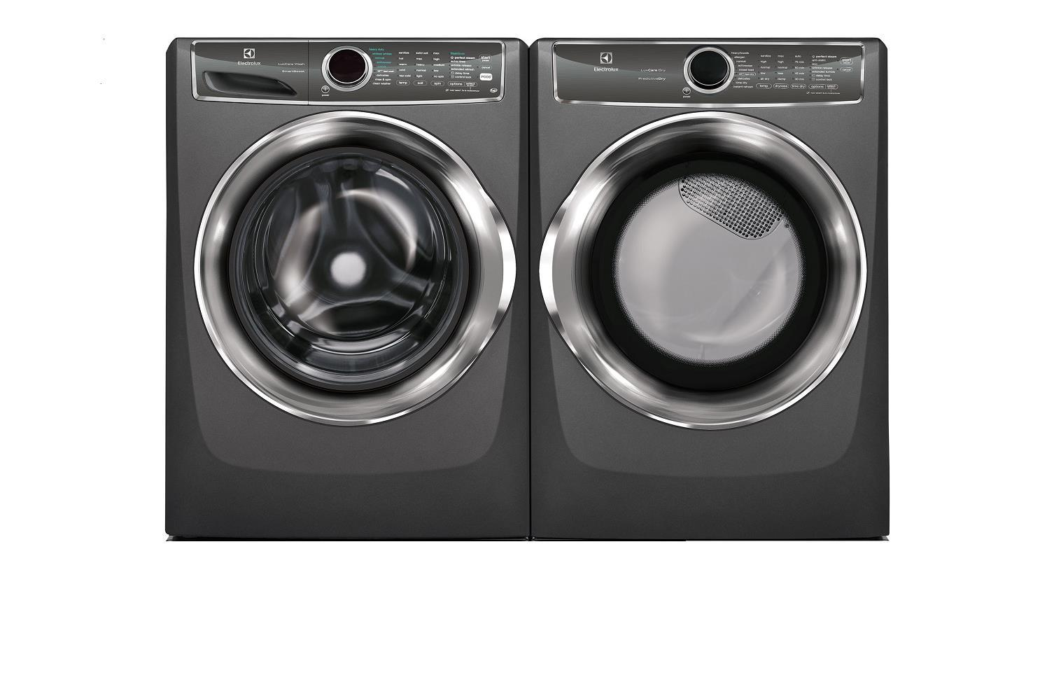 "Electrolux 27""  Front Load Washer & Dryer set EFLS527UTT / EFME627UTT Titanium - ALSurplus AL"