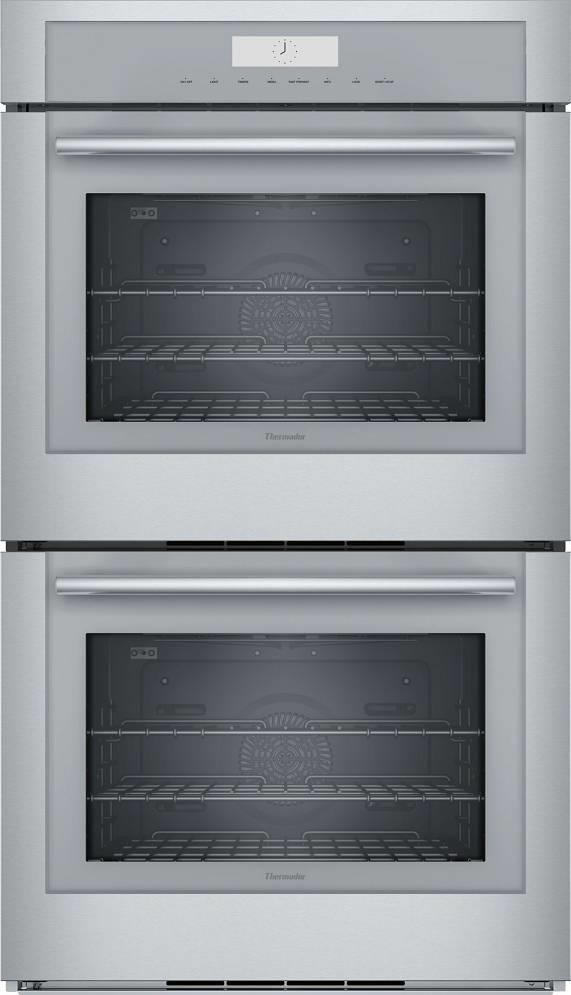 "Thermador Masterpiece Series 30"" 13 Heating Modes SS Double Wall Oven ME302WS - ALSurplus AL"