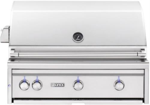 "Lynx Professional Grill Series 36"" 935 sq. in. Surface Built-In Grill L36TRNG - ALSurplus AL"