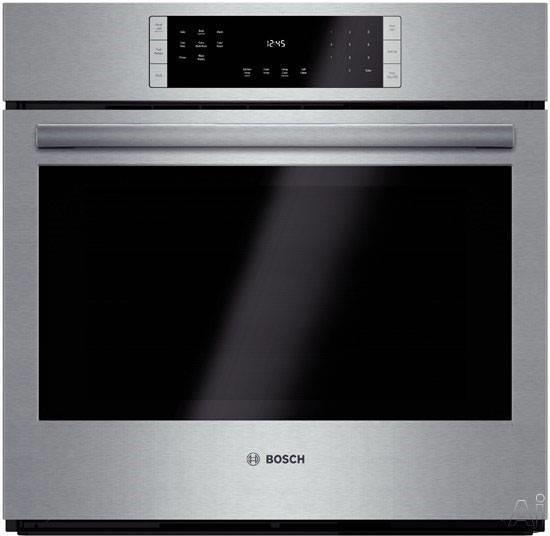 "Bosch 800 30"" 12 Modes Eco Clean Convection Single SS Electric Oven HBL8451UC - ALSurplus AL"