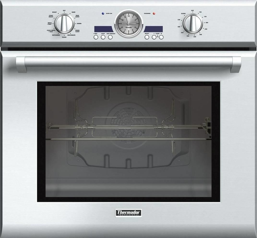 "Thermador Professional 30"" SS Single True Convection Electric Wall Oven POD301J - ALSurplus AL"