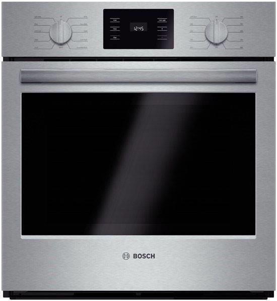 "Bosch 500 Series 27"" 4.1 cu.ft. EcoClean Single Electric Wall Oven HBN5451UC - ALSurplus AL"