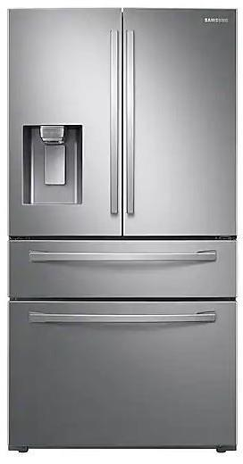 Samsung RF28R7351SR 36 Inches French Door Refrigerator with Food Showcase Images - ALSurplus AL